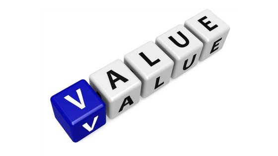 Value in pricing