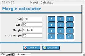 Cost plus margin pricing