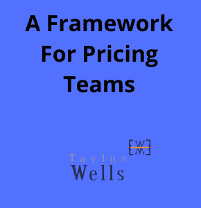 a framework for pricing teams