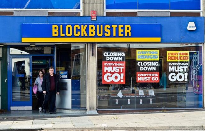 Why Blockbuster Went Out of Business?