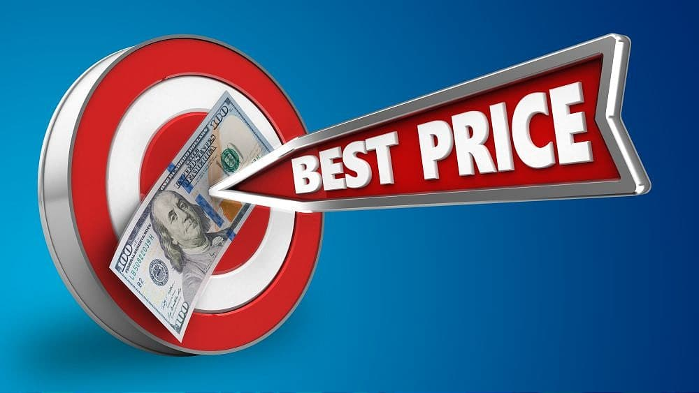 how to respond to what's your best price